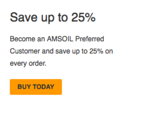 Become an AMSOIL Preferred Customer